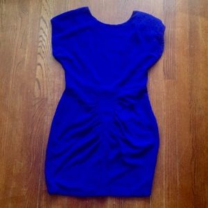 Urban Outfitters blue smocked dress M